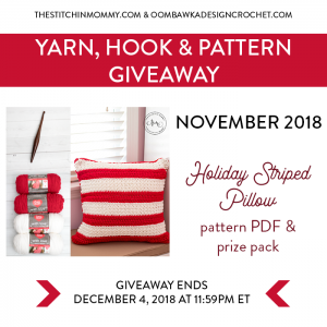 Yarn Hook and Pattern Giveaway November