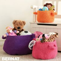 Clutter Catcher Baskets by Bernat Design Studio