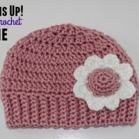 Bottoms Up Double Crochet Beanie Pattern