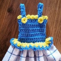 Summer Sundress Towel Topper Designed by: Cylinda Mathews