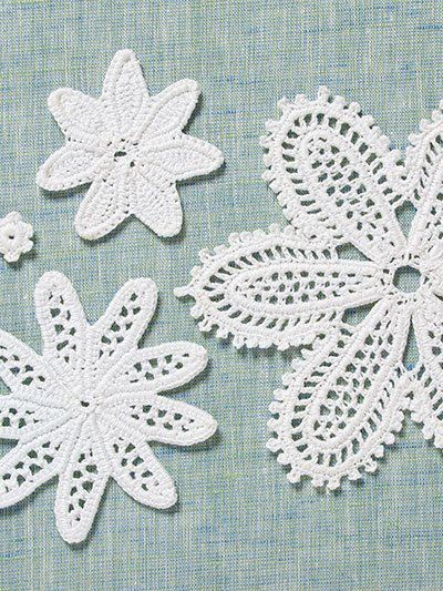 4 Layer Flower Irish Crochet Motifs. Annie's Craft Store. Review and Giveaway Oombawka Design Crochet