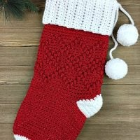 Argyle Christmas Stocking by Jennifer Pionk