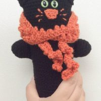 Black Cat Softie by Marie Segares