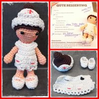 AMIGURUMI DOCTOR/ NURSE - YouTube | 200x200