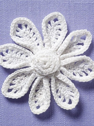 Flowers Irish Crochet Motifs. Annie's Craft Store. Review and Giveaway Oombawka Design Crochet