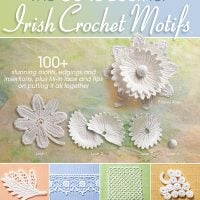 Cover Irish Crochet Motifs. Annie's Craft Store. Review and Giveaway Oombawka Design Crochet