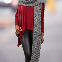 Wavy Ridge Super Scarf by Heather Lodinsky