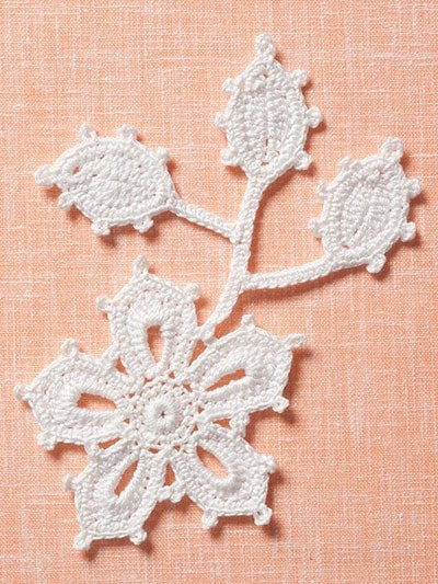 Motifs Irish Crochet Motifs. Annie's Craft Store. Review and Giveaway Oombawka Design Crochet