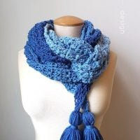 Ocean Breeze Scarf by Rhondda Mol