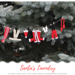 Santas Laundry Free Crochet Pattern from Oombawka Design Crochet