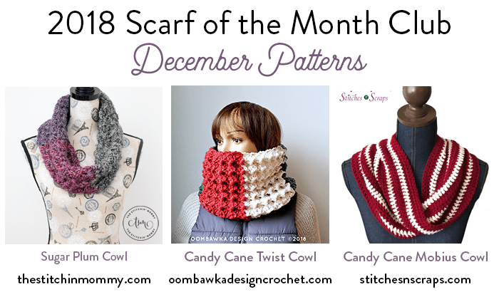 Scarf of the Month Club 2018 December