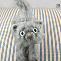 Fluffy Little Cat Pattern by Rhondda Mol