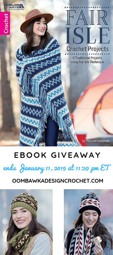 8 New Fair Isle Projects eBook Giveaway Oombawka Design Crochet
