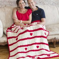 Be My Valentine Throw by Roseanna Beck