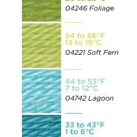 Bernat Satin Yarn Color Chart Example 2013