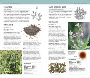 Chai Seed and Sage Herbal Remedies Handbook. DK Canada.