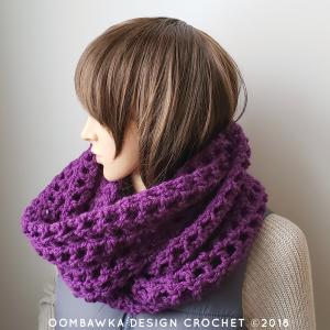 Comfort Me to Infinity Scarf Oombawka Design Crochet