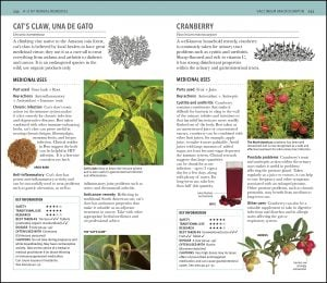 Cranberry Herbal Remedies Handbook. DK Canada.