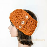 Ridgy Headband Ear Warmer by Maria Bittner