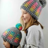 1. Prisma Hat. Free Crochet Pattern in Multiple Sizes. My Hobby is Crochet