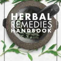 Herbal Remedies Handbook. Cover. DK Canada. Book Review by Rhondda Mol at Oombawka Design