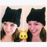 Kitty Cat Beanie by Ashleigh Kiser