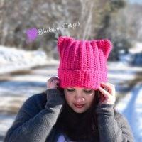 Kitty Cat Hat Pattern by Sonya Blackstone