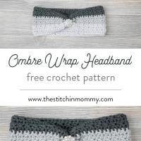 Ombre Wrap Headband by Amy Ramnarine