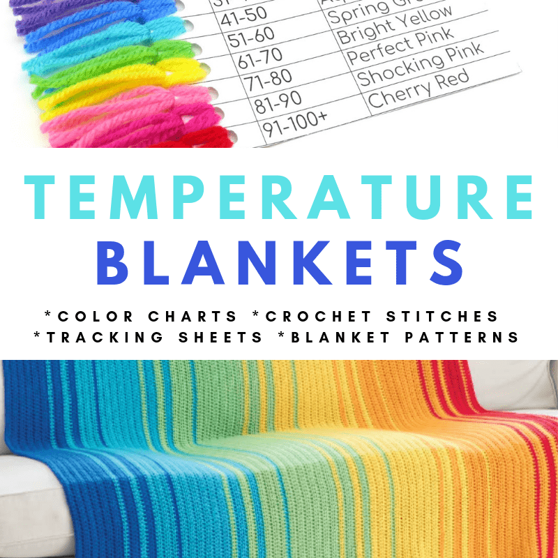 Temperature Blankets Post Oombawka Design Crochet