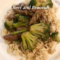 Beef and Broccoli by Julie's Creative Lifestyle