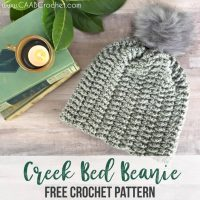 Creek Bed Beanie by Cute as a Button Crochet