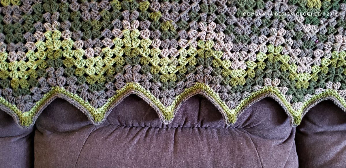 Healing Granny Ripple Pattern by Rhondda M Oombawka Design Crochet 2019
