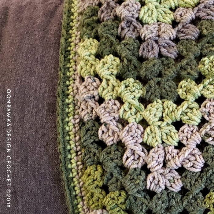 Healing Granny Ripple Pattern by Stitches Oombawka Design Crochet 2019