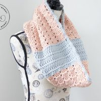 Peach Perfect Cowl Pattern by The Stitchin' Mommy