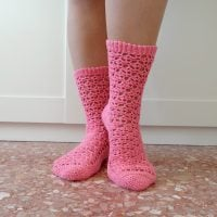 Tabatha Crochet Socks Pattern from Lilia Craft Party