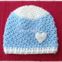 Aidan Baby Hat Crochet Pattern