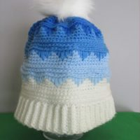 Cascading Icicles Beanie Crochet Pattern