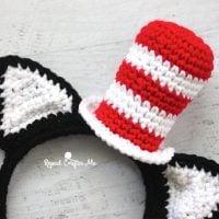 Cat in the Hat Headband Pattern
