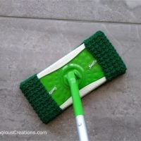 Crunch Stitch Crochet Swiffer Pad Pattern