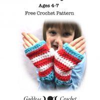 Kiddie Wristers Goddess Crochet