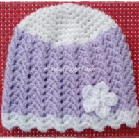 Aimee Baby Hat Free Pattern from Linda's Crafty Corner
