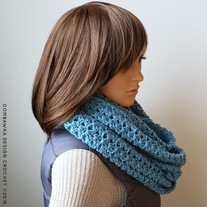 Iris Everyday Infinity Scarf Pattern Oombawka Design Crochet