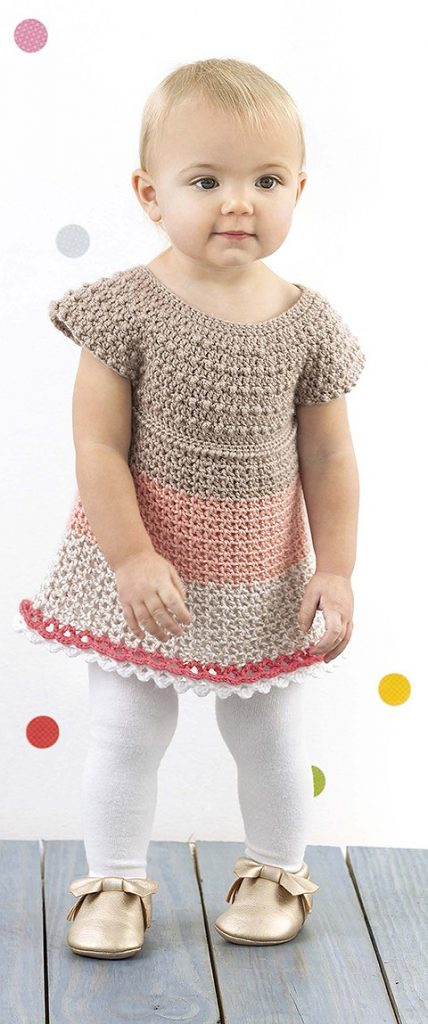 Ashley Lacy Little Girl Dresses Leisure Arts book review by Rhondda at Oombawka Design Crochet 3