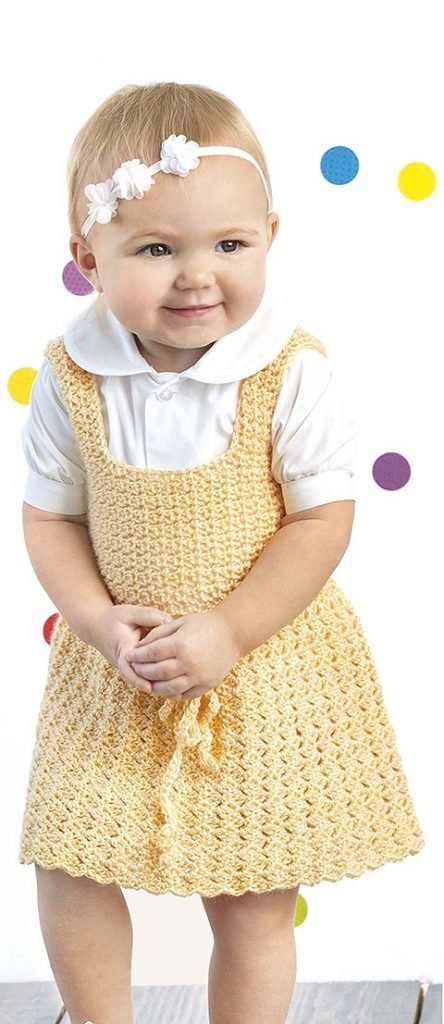 Jasmine Lacy Little Girl Dresses Leisure Arts book review by Rhondda at Oombawka Design Crochet