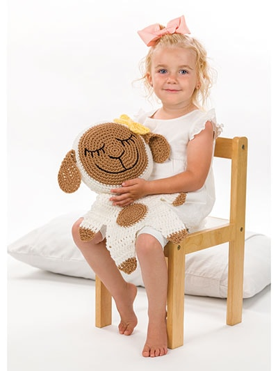 Lamb Friend. My Sleep-Time Friends. Annies Craft Store. Review Oombawka Design Crochet
