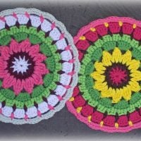 Sunny Flower Mini Mandala by zelna olivier