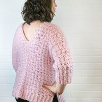Sweet Heart Sweater Free Crochet Pattern by Winding Road Crochet