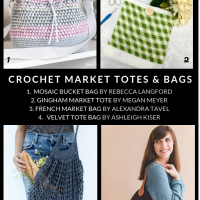 10 Free Crochet Patterns for Market Totes and Bags Crochet Roundup Oombawka Design