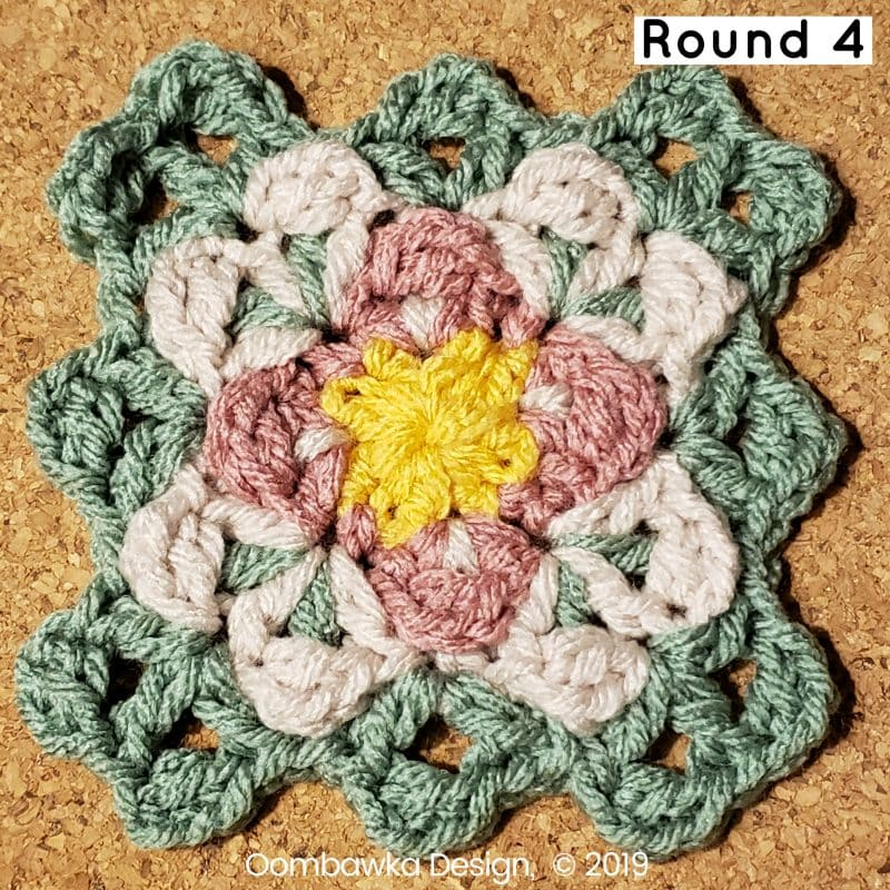 4 Finding Balance Afghan Square Round 4