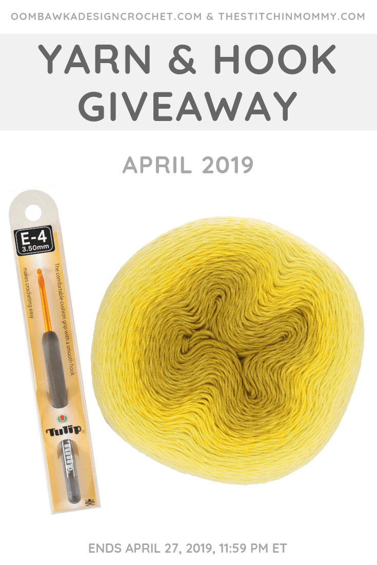 April 2019 Yarn and Hook Giveaway with Amy and Rhondda